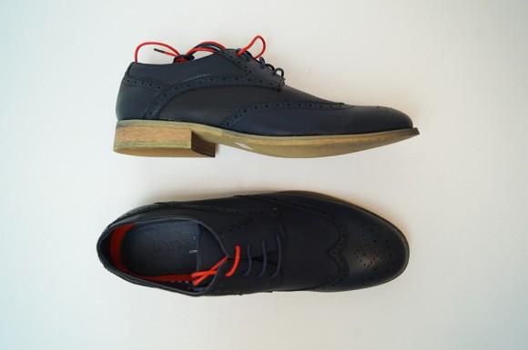 JMD Tonys Casual Shoes In Navy Wingtips - JMD MensWear 43e545acada
